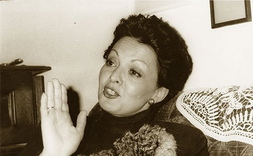 The teachers: Prizrenka Petković McCray